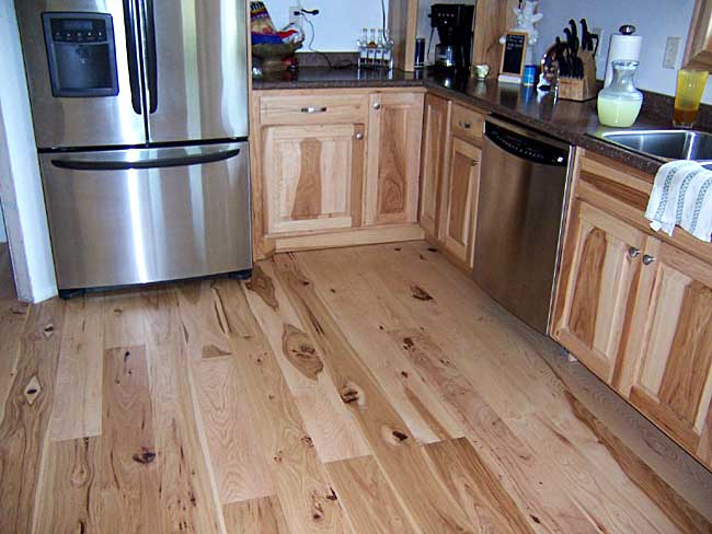 Impressive Kitchens with Hickory Flooring 650 x 488 · 41 kB · jpeg